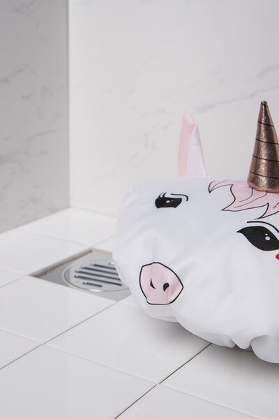 Shower Cap, MAJESTIC UNICORN