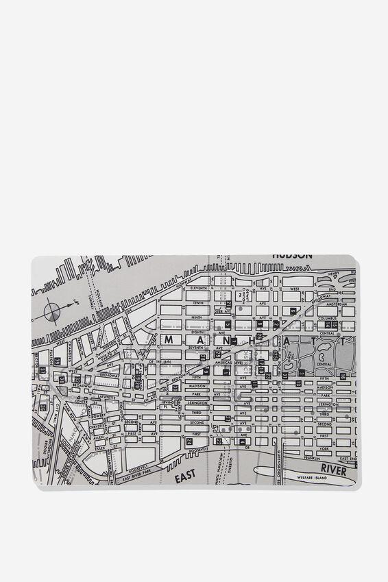 A2 Jumbo Mouse Pad, NY MAP
