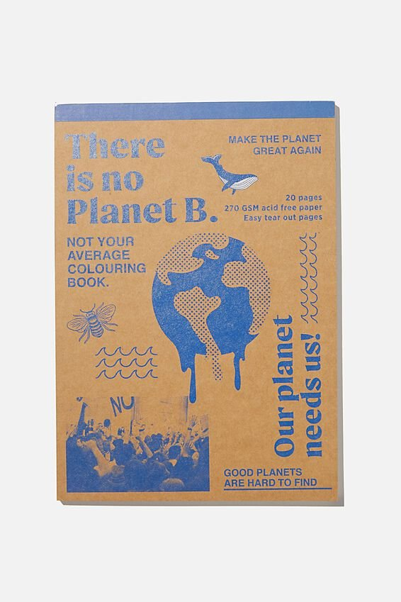 Artists Assistant Colouring In Book, PLANET B