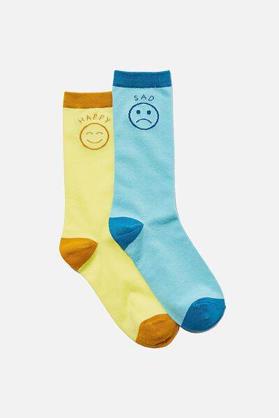 Socks, HAPPY SAD