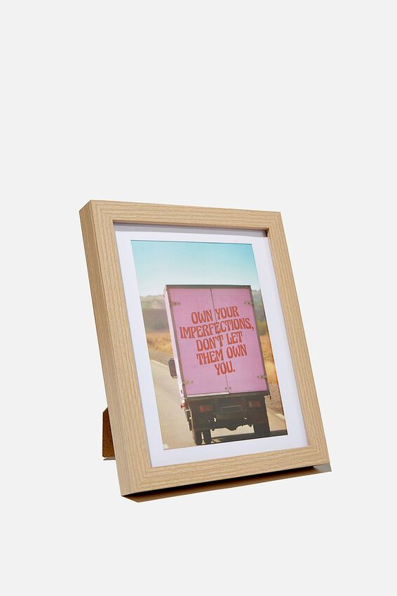 A5 Framed Print, IMPERFECTIONS
