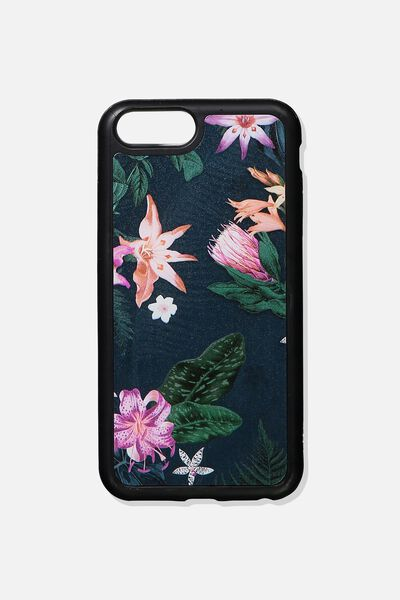 The Superior Phone Cover 6,7,8 Plus, JUNGLE FLORAL