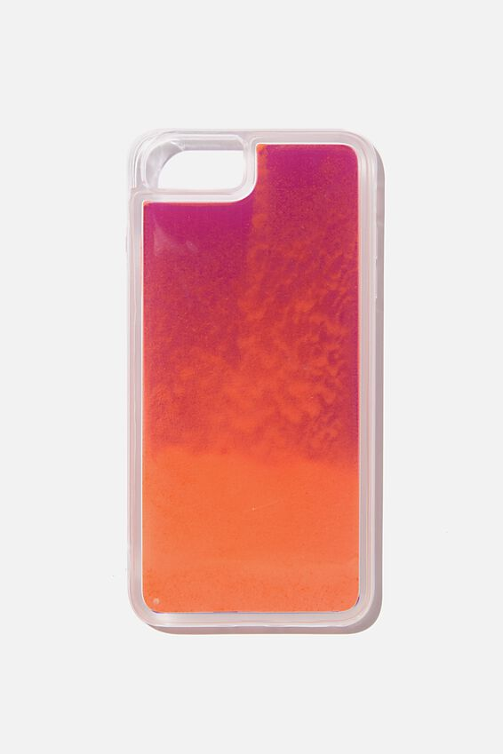 Shake It Phone Case 6, 7, 8 Plus, LIQUID SAND PINK