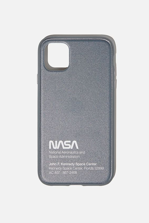 NASA Snap On Protective Phone Case iPhone 11, LCN NAS NASA JFK