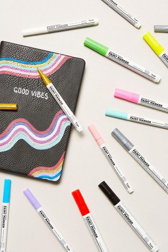 Colour My World Paint Marker, BLACK