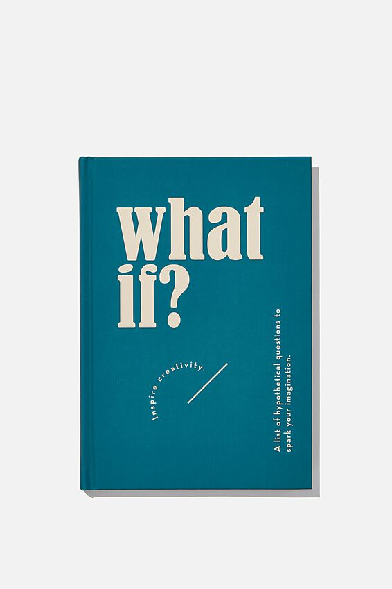 A5 What if Activity Journal, WHAT IF