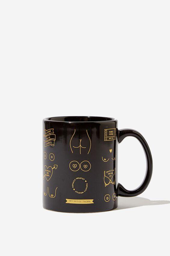 Anytime Mug, BOOBS & BUTTS