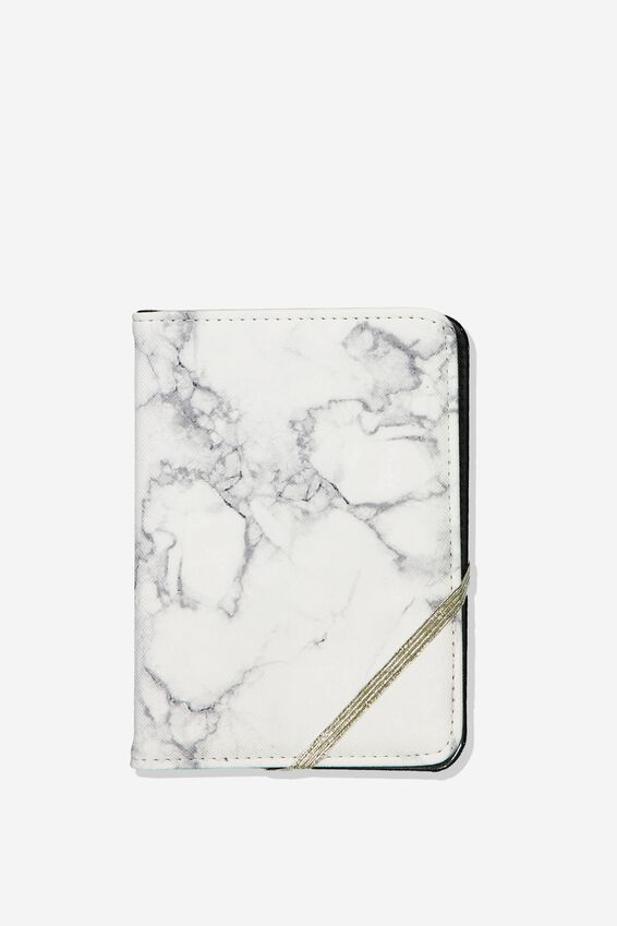 Passport Holder, MARBLE