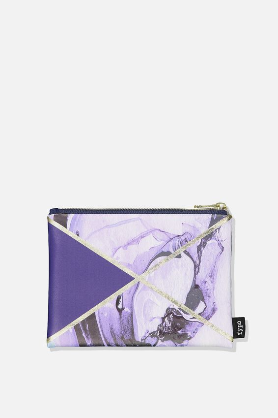 Squad Pencil Case, MARBLE