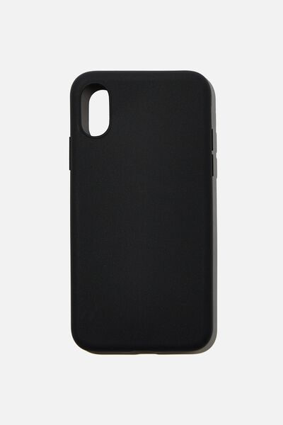Recycled Phone Case iPhone X, Xs, BLACK