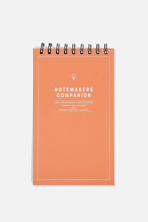 Flipout Notepad Recycled, NOTEMAKERS CAMPANION RUST