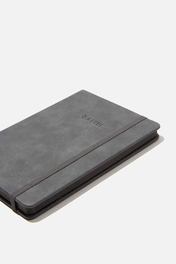 A5 Buffalo Journal Personalised, WELSH SLATE