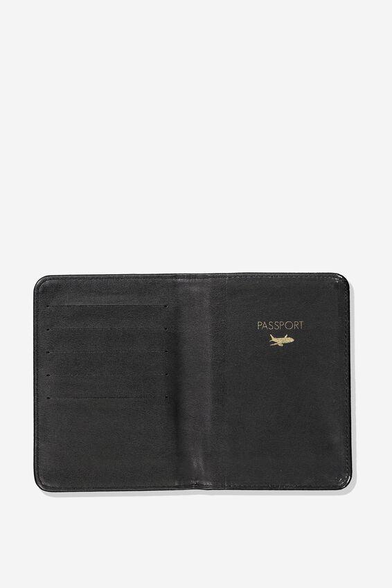 Passport Holder, BLACK