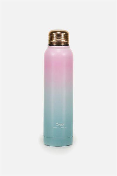 Small Metal Drink Bottle, GRADIENT
