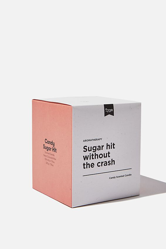 Food Scented Candle, CANDY SUGAR HIT