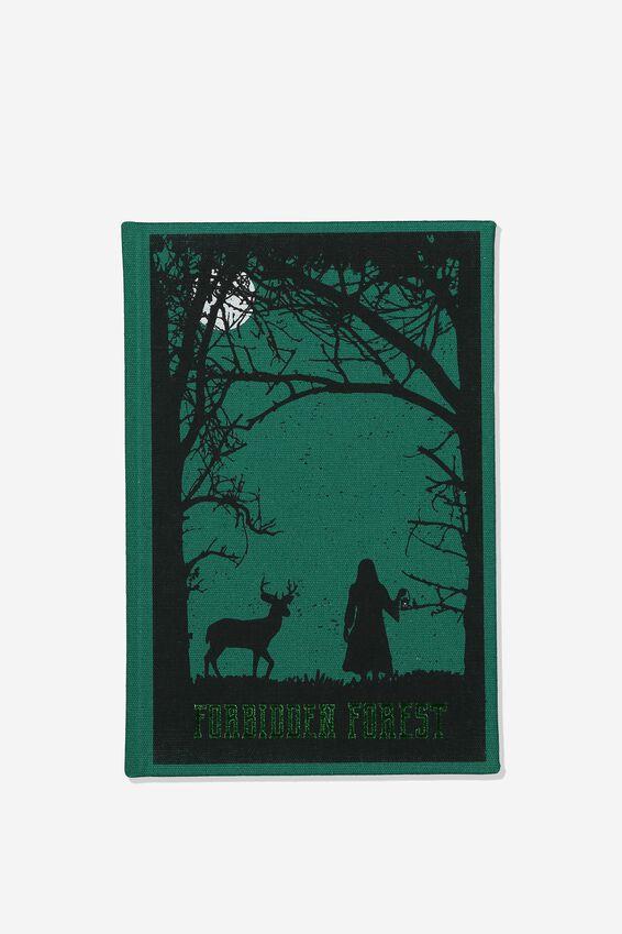 A5 Harry Potter Print Notebook, LCN WB HP FORBIDDEN FORREST