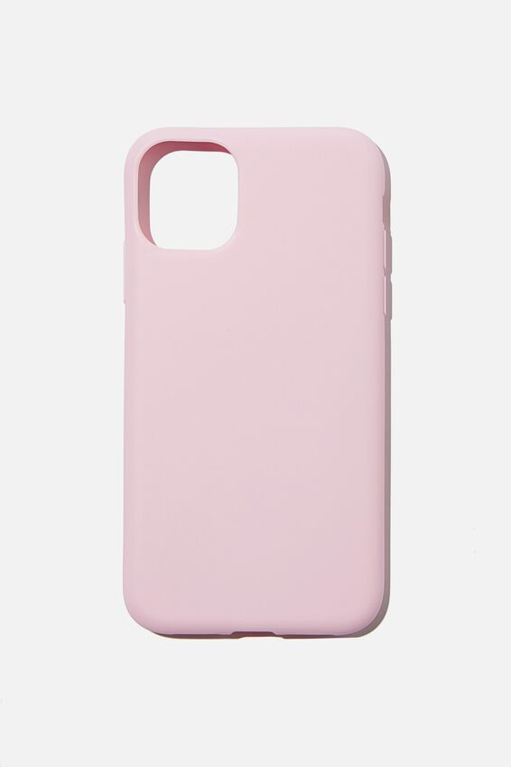 Slimline Recycled Phone Case Iphone 11, PLASTIC PINK