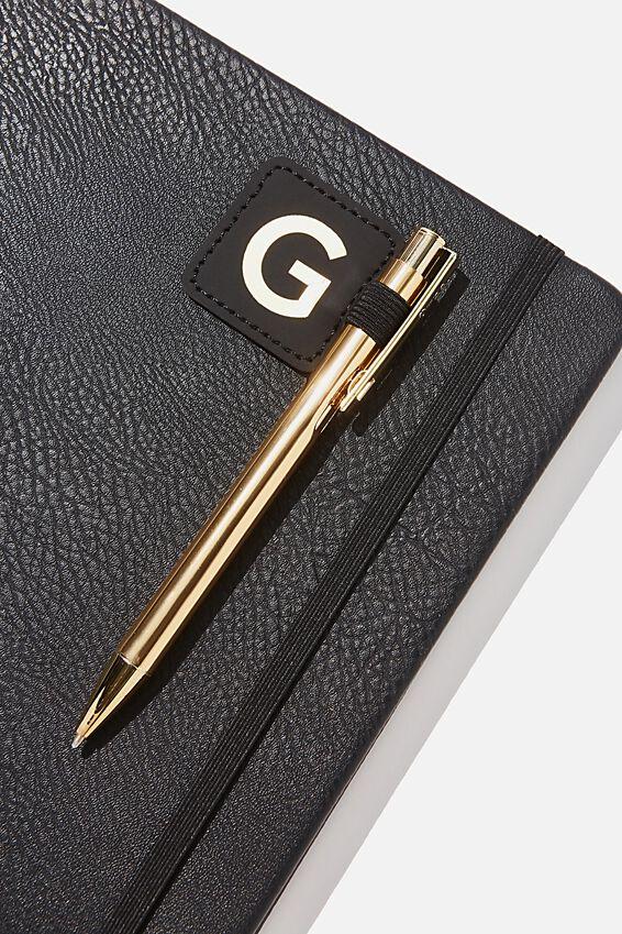 Pen Loop Sticker, BLACK G