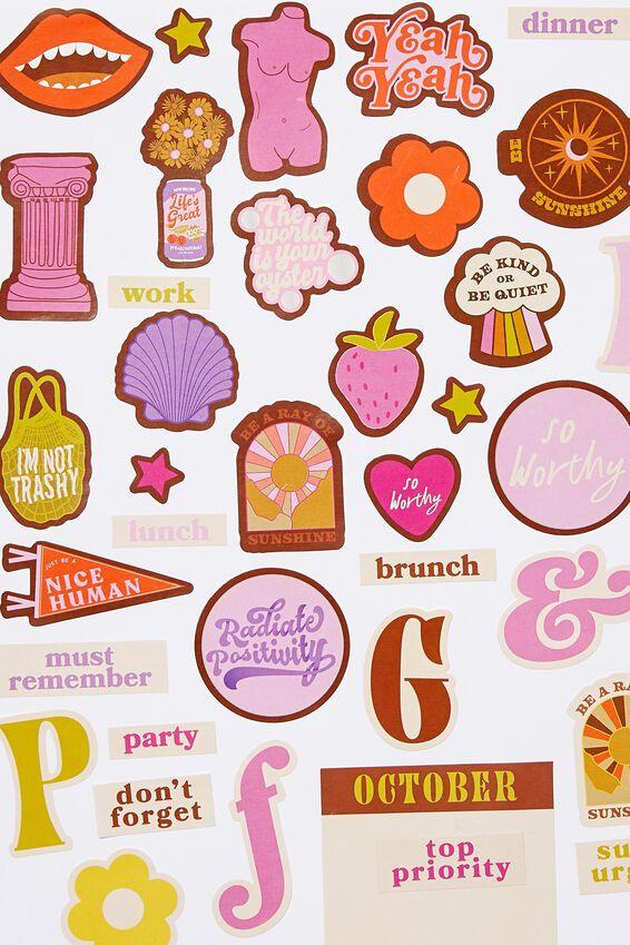 Sticker Book, PINK