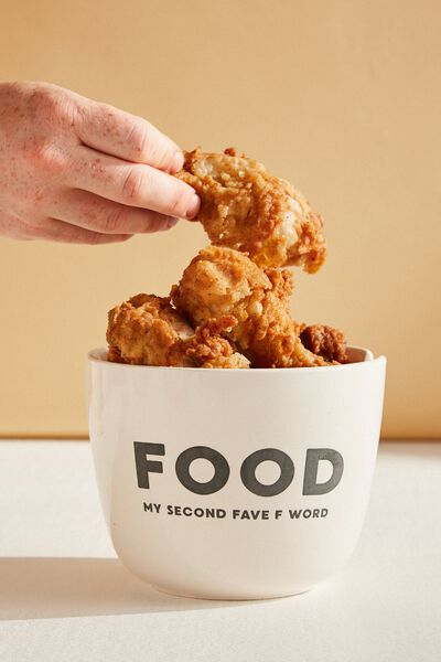 Feed Me Bowl, FOOD WHITE