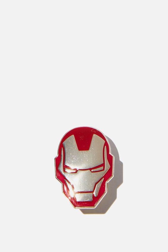 Marvel Enamel Badge, LCN MAR IRON MAN
