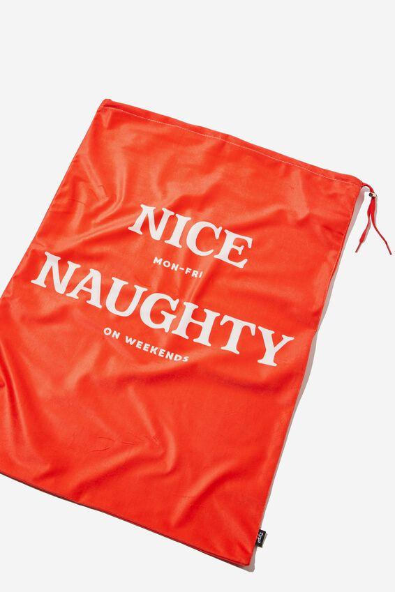 Christmas Sack, NICE & NAUGHTY