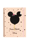 A4 Spinout Notebook - 120 Pages, LCN MICKEY SERIOUS APPETITE