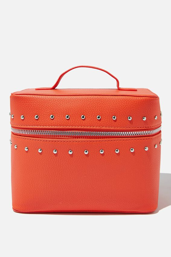 Vacay Cosmetic Bag, CORAL