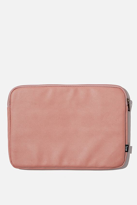 Take Charge Laptop Cover 13 inch, DUSTY ROSE W WHITE SPLATTER