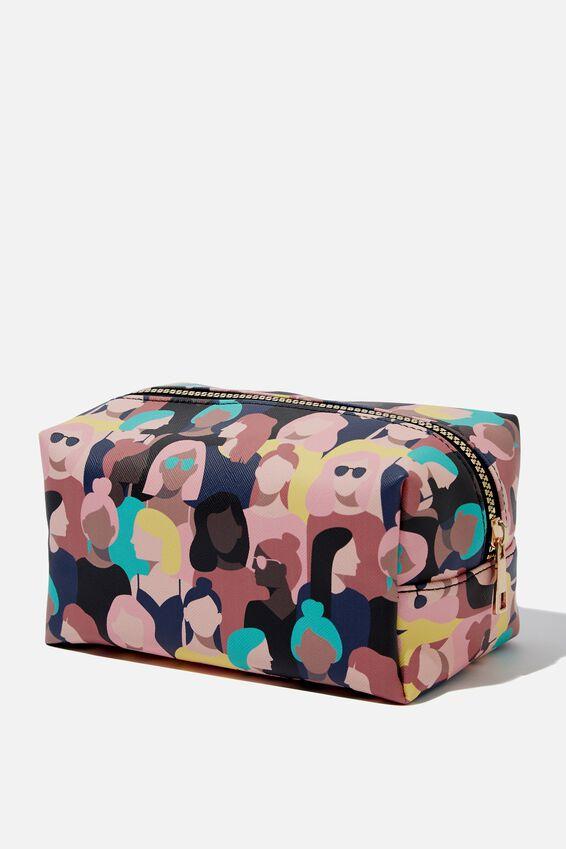 Made Up Cosmetic Bag, SPECTATORS YARDAGE