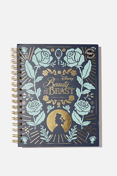Premium Embossed Spiral, LCN DIS BEAUTY & THE BEAST
