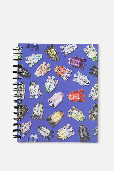 A5 Campus Notebook, LCN STAR WARS R2D2