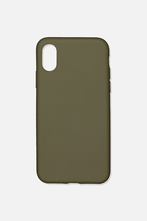 Slimline Recycled Phone Case Iphone X, Xs, OILSKIN