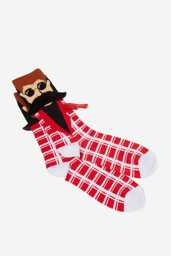 Premium Mens Novelty Socks, HIP GUY