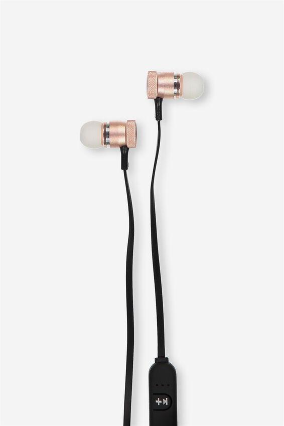 Shift Wireless Earphone, ROSE GOLD