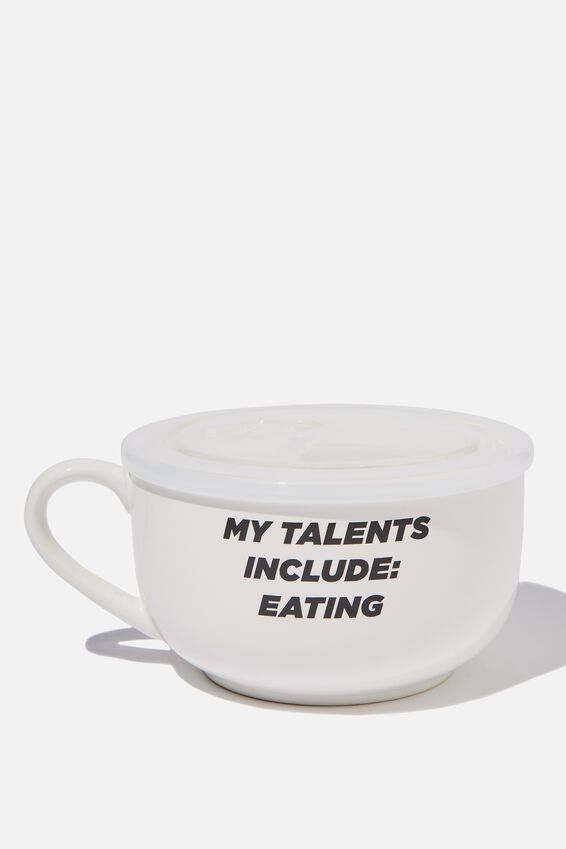 Big Mug Bowl, TALENTS INCLUDE EATING