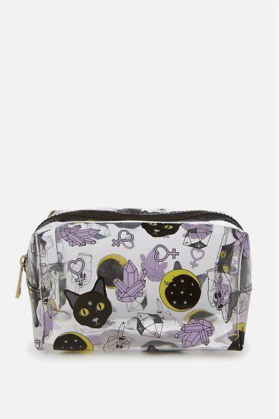 Made Up Cosmetic Bag, CAT YARDAGE