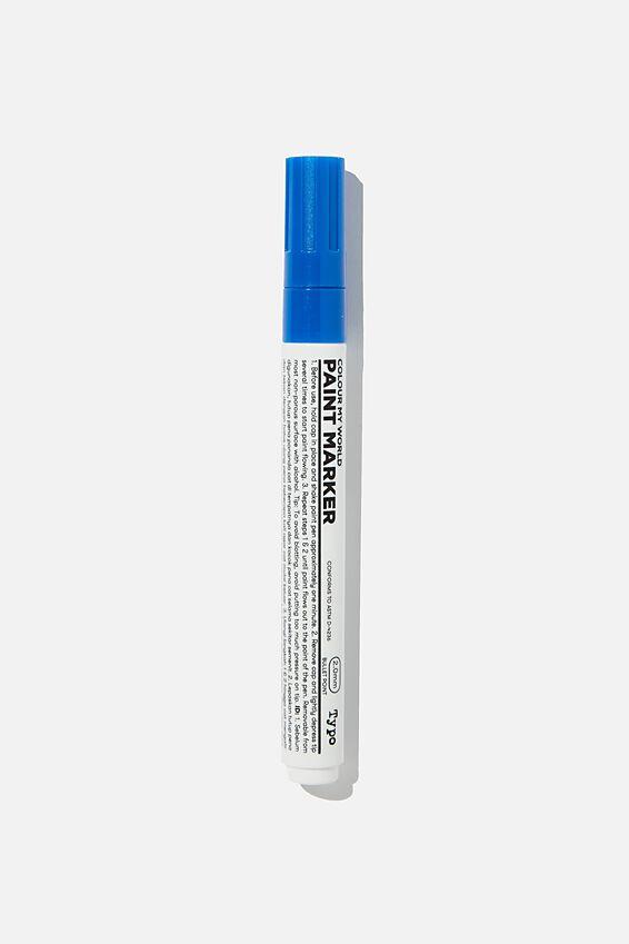 Colour My World Paint Marker, BLUE