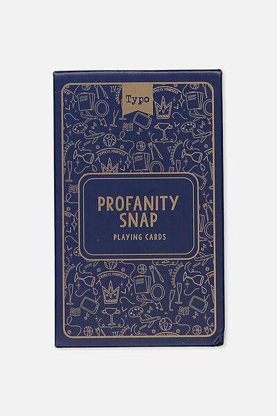 Party Card Game, PROFANITY SNAP!