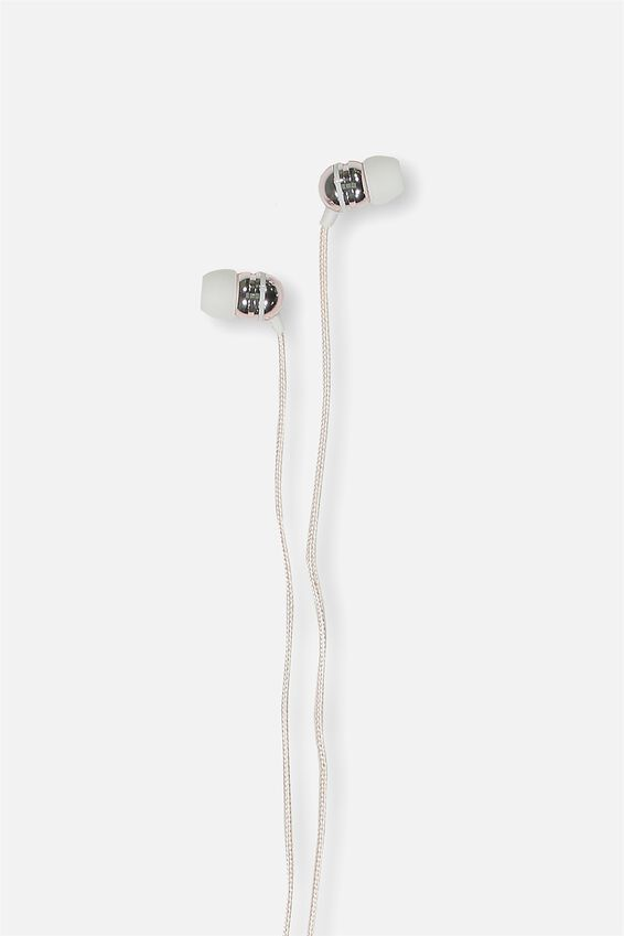 Luxe Earphones, BLUSH