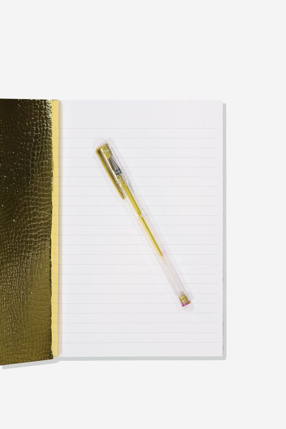 A5 Textured Notebook, PINK FRIDAY YET