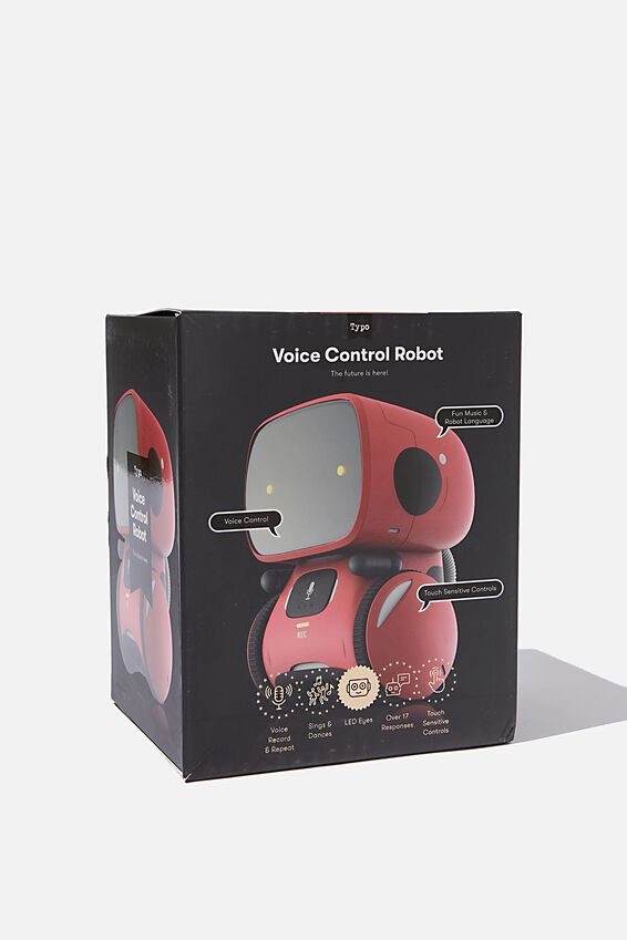 Voice Control Robot, RED