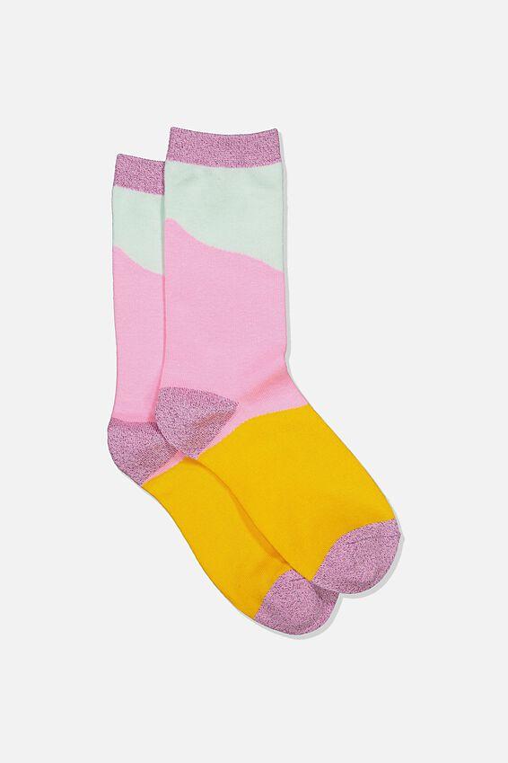Socks, PASTEL SPLICE