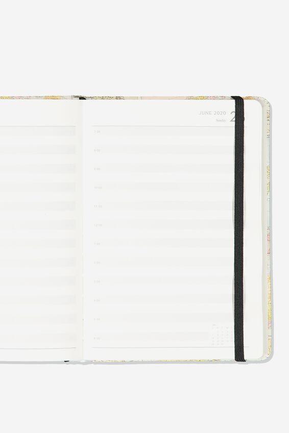 2020 A5 Daily Buffalo Diary, MAP