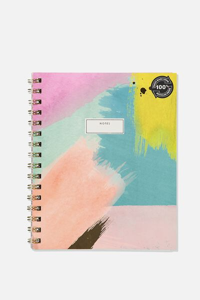 A5 Campus Notebook Recycled, PAINTLY