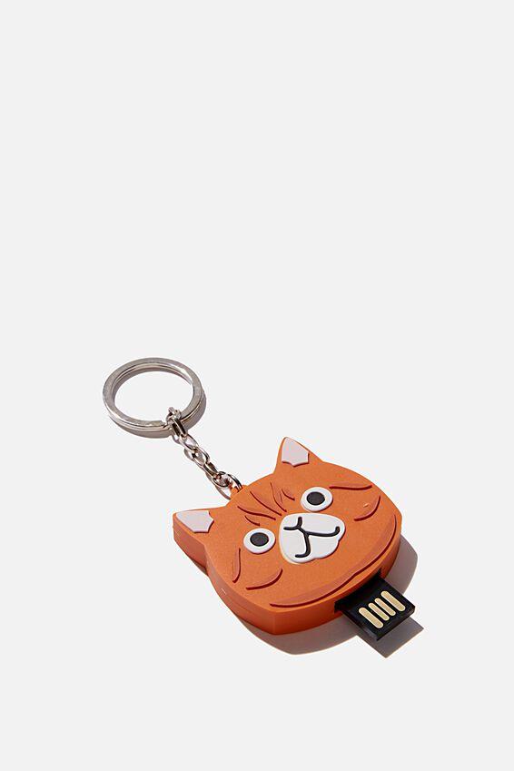 Novelty Usb 16Gb, ORANGE CAT