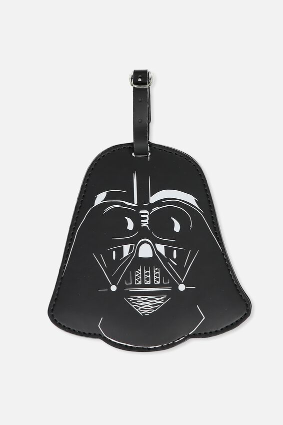 Star Wars Luggage Tag, LCN SHAPED DARTH