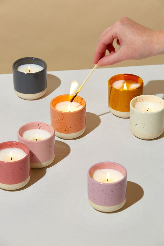 Double Dip Candle, PEACH