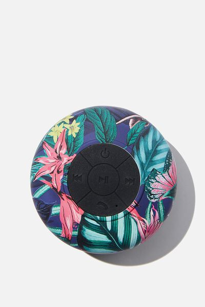 Shower Speaker, RESORT FLORAL