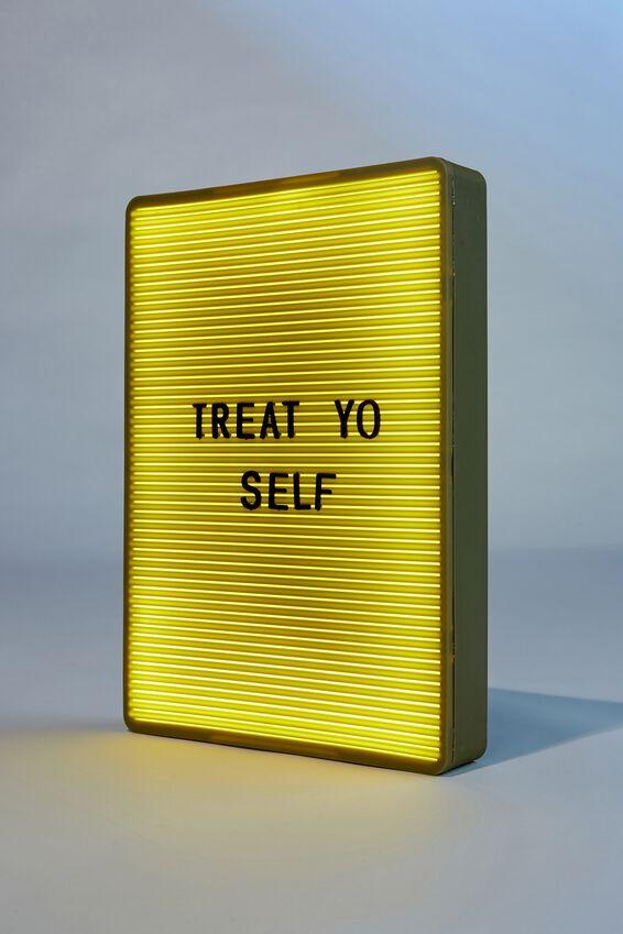 Peg Board Light Box, SOLID KHAKI